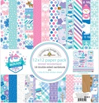Winter Wonderland 12 x 12 Paper Pack - Doodlebug