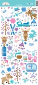 Winter Wonderland Icon Stickers - Doodlebug