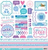 Winter Wonderland This & That Sticker - Doodlebug