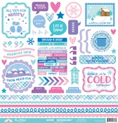 Winter Wonderland This & That Sticker - Doodlebug