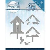 Winter Birdhouse - Sparkling Winter Yvonne Creations Die