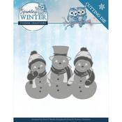 Sparkling Snowmen - Sparkling Winter Yvonne Creations Die