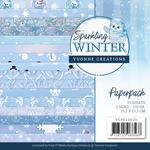 Sparkling Winter Yvonne Creations Paper Pack - PRE ORDER
