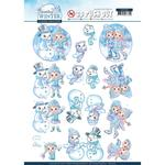 Winterfun - Sparkling Winter Yvonne Creations Punchout Sheet