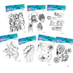 Jane Davenport Clear Stamps Bundle