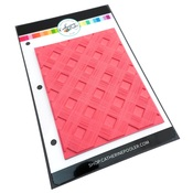 Sketch Plaid Background Stamp - Out West - Catherine Pooler