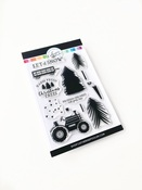 Christmas Tree Farm Stamps - Catherine Pooler