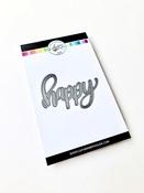 Happy Word Die - Catherine Pooler - PRE ORDER