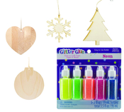 Glitter Glue Ornament Kit - ACOT Exclusive