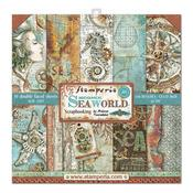 Sea World Stamperia Double-Sided Paper Pad
