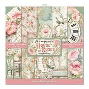 House of Roses Stamperia Double-Sided Paper Pad