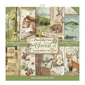 Forest Stamperia Double-Sided Paper Pad