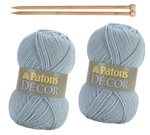 Patons Decor Knitting Kit