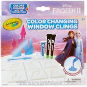 Frozen 2 Crayola Color Changing Window Clings - PRE ORDER