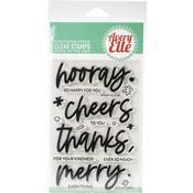 "Hooray Avery Elle Clear Stamp Set 4""X6"" - PRE ORDER"