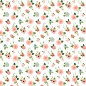 Newborn Floral Paper - Baby Girl - Echo Park
