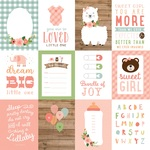 Journaling Cards 3x4 Paper - Baby Girl - Echo Park