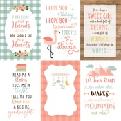 Journaling Cards 4x6 Paper - Baby Girl - Echo Park