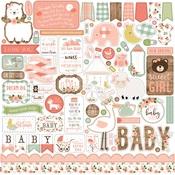 Baby Girl Element Sticker - Echo Park