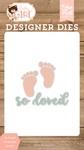 So Loved Footprints Die Set - Echo Park