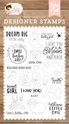 Dream Big Little Lady Stamp Set - Echo Park