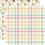 Easter Plaid Paper - I Love Easter - Echo Park