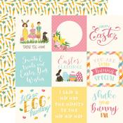 4X4 Journaling Cards Paper - I Love Easter - Echo Park