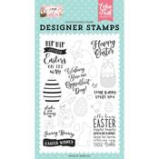 Funny Bunny Stamp Set - I Love Easter - Echo Park