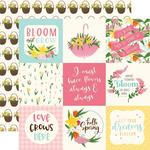 """4""""X4"""" Journaling Cards Paper - I Love Spring - Echo Park"""