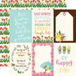 """4""""X6"""" Journaling Cards Paper - I Love Spring - Echo Park"""