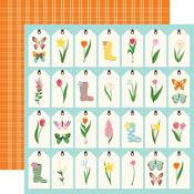 Spring Tags Paper - I Love Spring - Echo Park