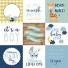 Journaling Cards 4x4 Paper - Baby Boy - Echo Park