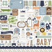 Baby Boy Element Sticker - Echo Park