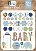 Baby Boy Adhesive Brads - Echo Park