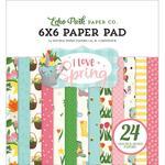 "Paper Pad 6""X6"" - I Love Spring - Echo Park"