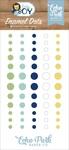 Baby Boy Enamel Dots - Echo Park - PRE ORDER