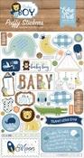 Baby Boy Puffy Stickers - Echo Park - PRE ORDER