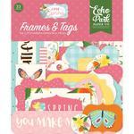 Frames & Tags - I Love Spring - Echo Park