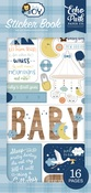 Baby Boy Sticker Book - Echo Park - PRE ORDER