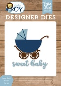 Sweet Baby Stroller Die Set - Echo Park