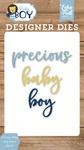 Precious Baby Boy Word Die Set - Echo Park