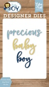 Precious Baby Boy Word Die Set - Echo Park