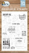 Dream Big Little Man Stamp Set - Echo Park