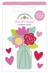 Love You Bunches Doodle-Pops - Love Notes - Doodlebug - PRE ORDER
