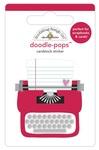 Love Story Doodle-Pops - Love Notes - Doodlebug