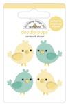 Tweethearts Doodle-Pops- Love Notes - Doodlebug
