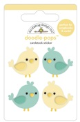 Tweethearts Doodle-Pops- Love Notes - Doodlebug