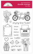 Love Notes Doodle Stamps - Doodlebug