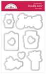 Love Notes Doodle Cuts - Doodlebug - PRE ORDER
