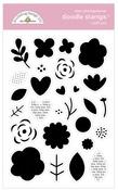 I Pick You Doodle Stamps - Love Notes - Doodlebug